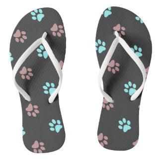 Footprints Thongs
