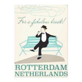 For a Fabulous Break! Rotterdam, Netherlands Canvas Print