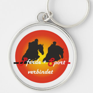For equestrian sports lover key supporter key ring