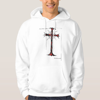 For every nation (red cross) For the world Hoodie