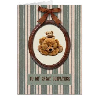 For Godfather on Father's Day Greeting Cards