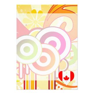 For Kids: Cool Canada 13 Cm X 18 Cm Invitation Card