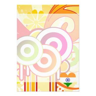 For Kids: Cool India 13 Cm X 18 Cm Invitation Card