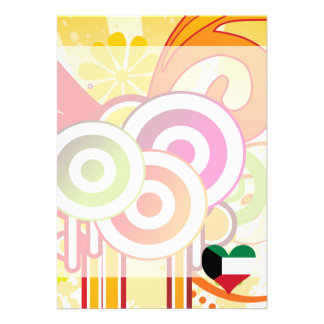 For Kids: Cool Kuwait 13 Cm X 18 Cm Invitation Card