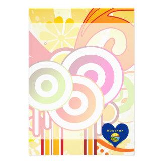 For Kids: Cool Montana 13 Cm X 18 Cm Invitation Card