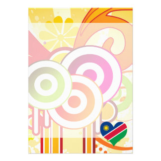 For Kids: Cool Namibia 13 Cm X 18 Cm Invitation Card