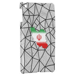 For Kids: Creative Iran Flag With Map iPad Mini Case