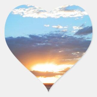 For of the Sun in Porto Alegre Heart Sticker