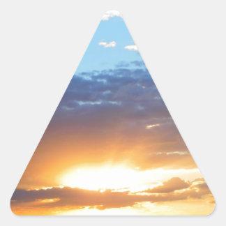 For of the Sun in Porto Alegre Triangle Sticker