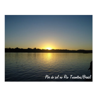 For of the Sun in Rio Tocantins Post Card