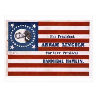 For president, Abram Lincoln Postcard