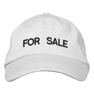 FOR SALE EMBROIDERED BASEBALL CAP