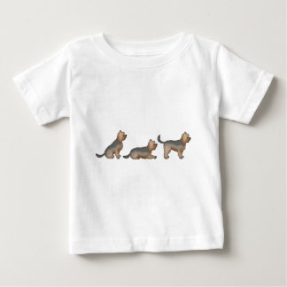 For seat place stand yorkshire Terrier Baby T-Shirt