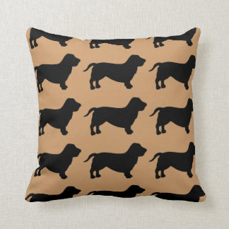For the Love of Basset Hounds Cushion