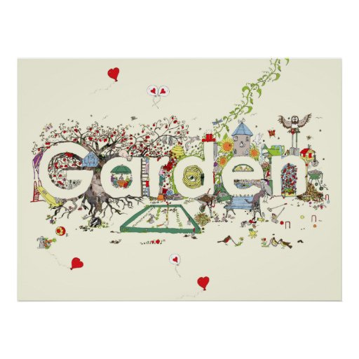 'For the Love of Gardening' Posters