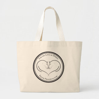 For the Love of Horses Tote Bag