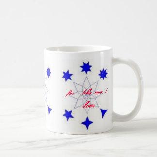 , for  the one i love basic white mug