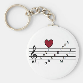 For the orchistra music lover key ring