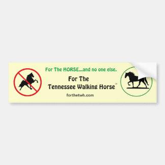 For The TWH Bumper Sticker
