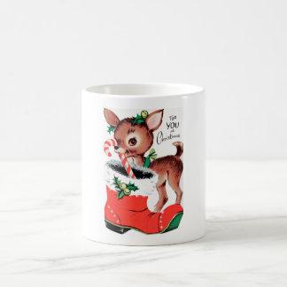 For You at Christmas Reindeer Coffee Mug