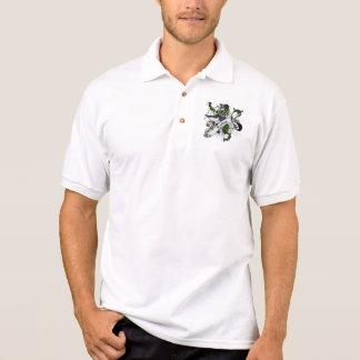 Forbes Tartan Lion Polo Shirt