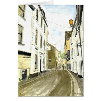 'Fore Street, Fowey' Card