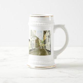 'Fore Street, Fowey' Mug