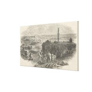 Foreign Corn Ports, Alexandria Canvas Print