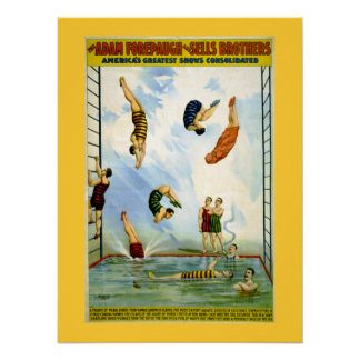 Forepaugh and Sells Vintage Circus Poster