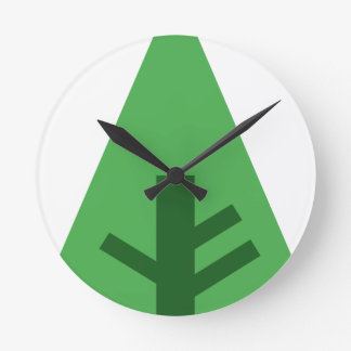 Forest Drawing Wall Clocks Zazzle Co Nz