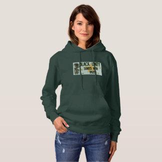 Forest green Black Unity female hoodie