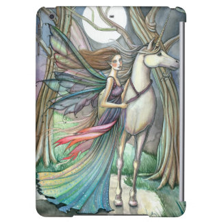 Forest of Dreams Unicorn Fairy Fantasy Art Cover For iPad Air