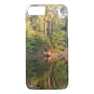 Forest Photograph off  the Mississippi River iPhone 7 Case