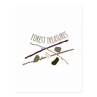 Forest Treasures Postcard