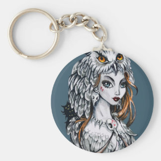 Forest witch key ring
