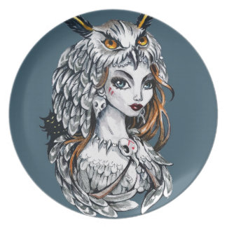 Forest witch plate
