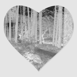 Forests of Ardentiny Heart Sticker