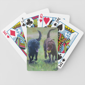 Forever  Friends Labrador Retriever Playing Cards