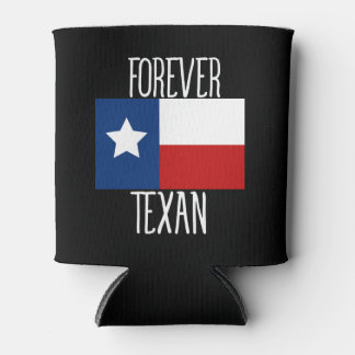 Forever Texan Can Cooler