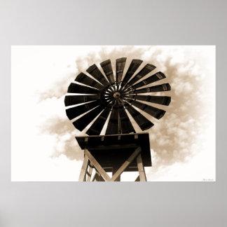 Forgotten Windmill Poster