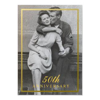 Formal 50th Anniversary Invitation