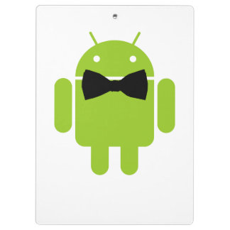 Formal Atire Green Android Robot Clipboards