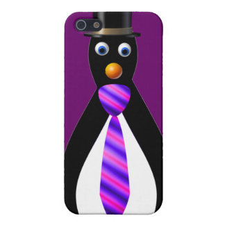 Formal Penguins: Purple Case For The iPhone 5