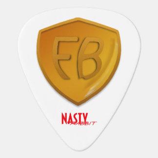 Former Brothers / Nasty Rabbit logo guitar picks! Guitar Pick