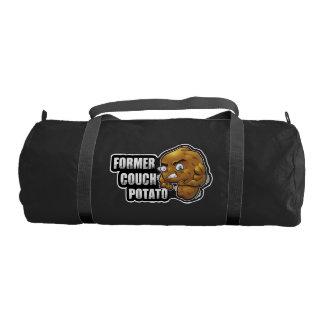 Former Couch Potato Cartoon Workout/Fitness Design Gym Bag
