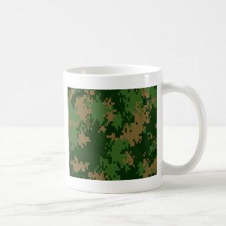 Forrest Camo Basic White Mug
