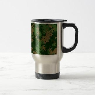 Forrest Camo Stainless Steel Travel Mug