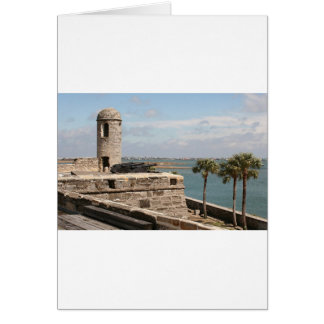 Fort, St Augustine, Florida, USA Card