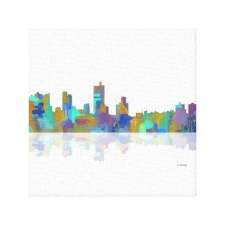 Fort Worth Texas Skyline Canvas Print