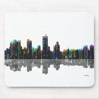 Fort Worth Texas Skyline Mouse Pad